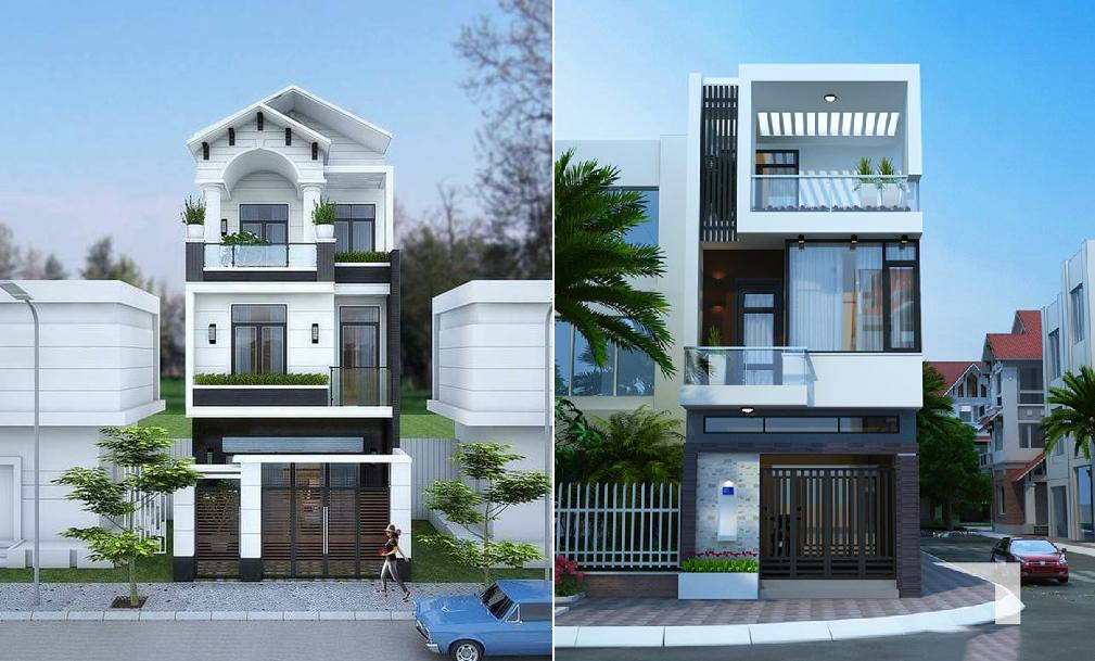 biệt thự nhà phố đẹp ở Phú Hòa
